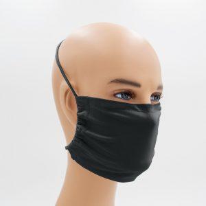 Shirtinator Maske aus Baumwolle in schwarz