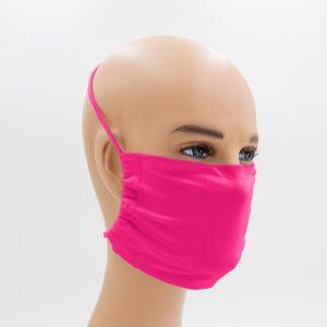 Shirtinator Maske aus Baumwolle in pink