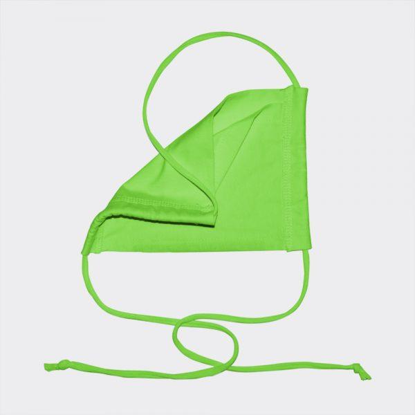 Shirtinator Maske aus Baumwolle in grün
