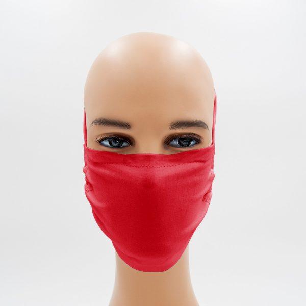 Shirtinator Maske aus Baumwolle in rot