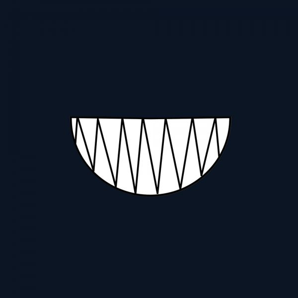 "Mundmaske von Shirtinator mit dem Design ""Monster Smile""Monster Smile"