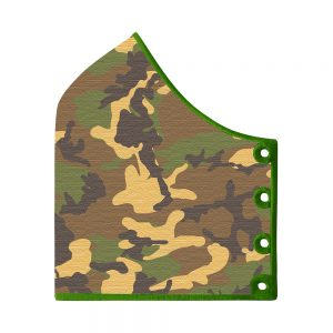 Subli Mask Camouflage Boys left